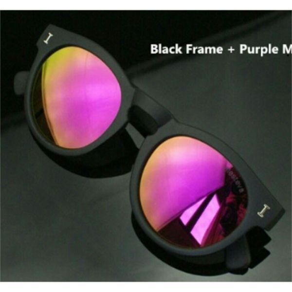 00ee192250783 Óculos de sol Illesteva Inspired Espelhado Roxo - Moderninhas Acessórios